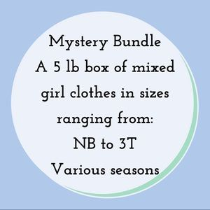 ✨Mystery Bundle✨5 lbs of Clothes!